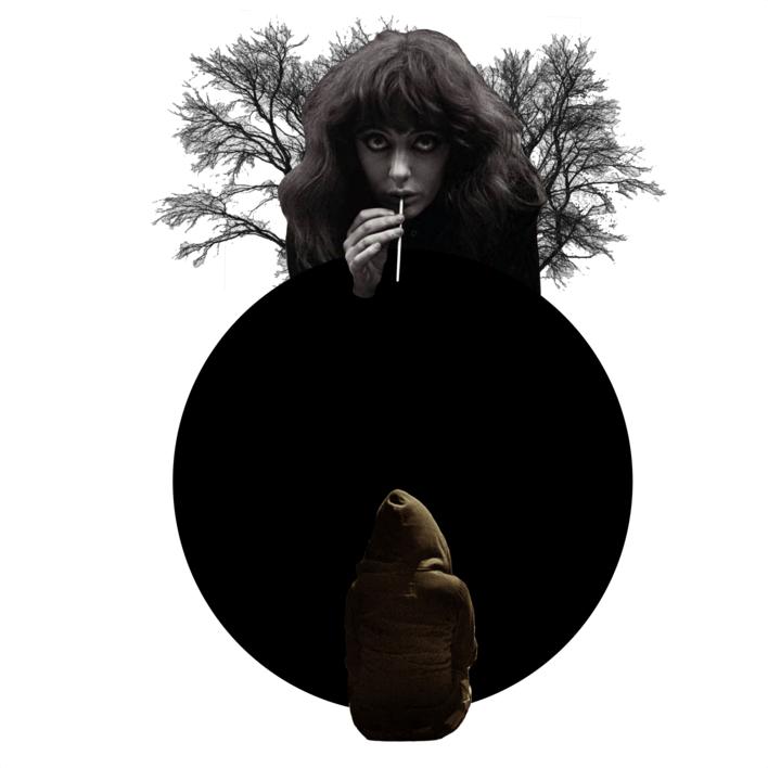 Agujero negro nº7 |Collage de Gabriel Aranguren | Compra arte en Flecha.es