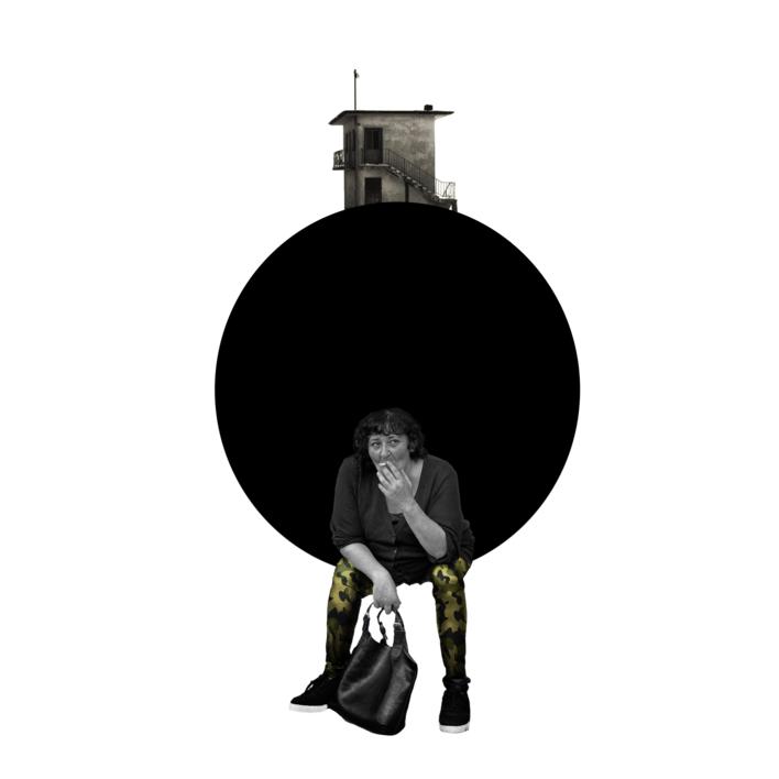 Agujero negro nº 10 |Collage de Gabriel Aranguren | Compra arte en Flecha.es