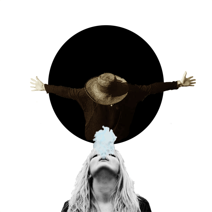 agujero negro nº 12 |Collage de Gabriel Aranguren | Compra arte en Flecha.es