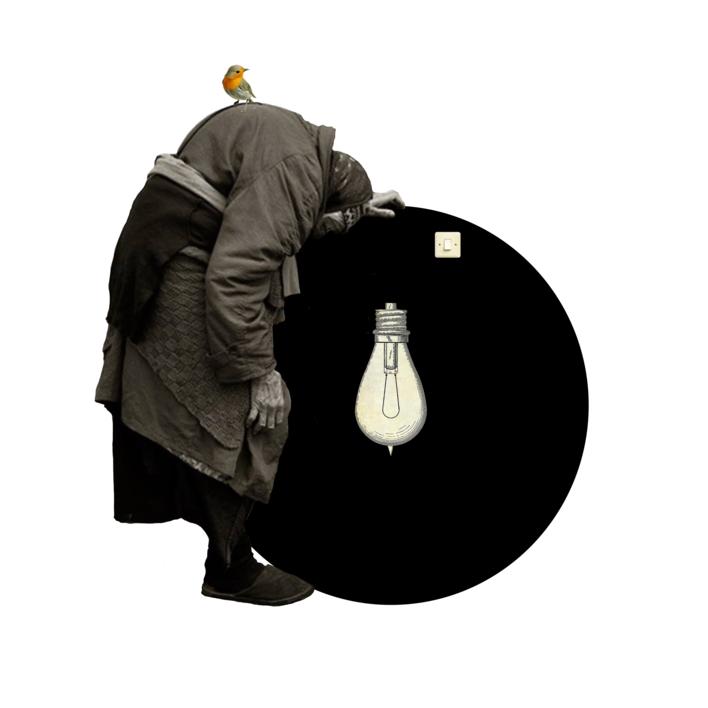 Agujero negro nº 16 |Collage de Gabriel Aranguren | Compra arte en Flecha.es