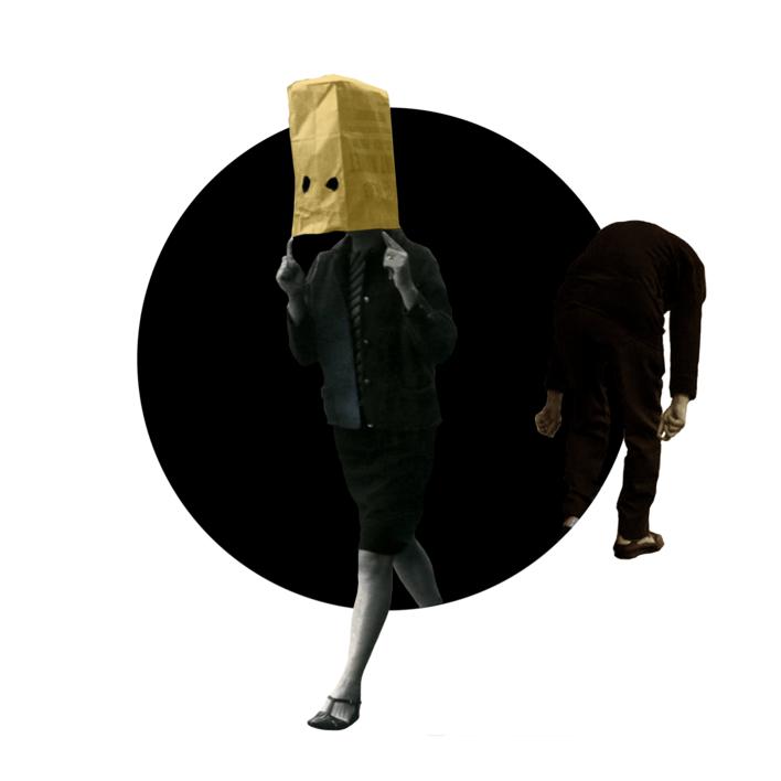 Agujero negro nº 22 |Collage de Gabriel Aranguren | Compra arte en Flecha.es