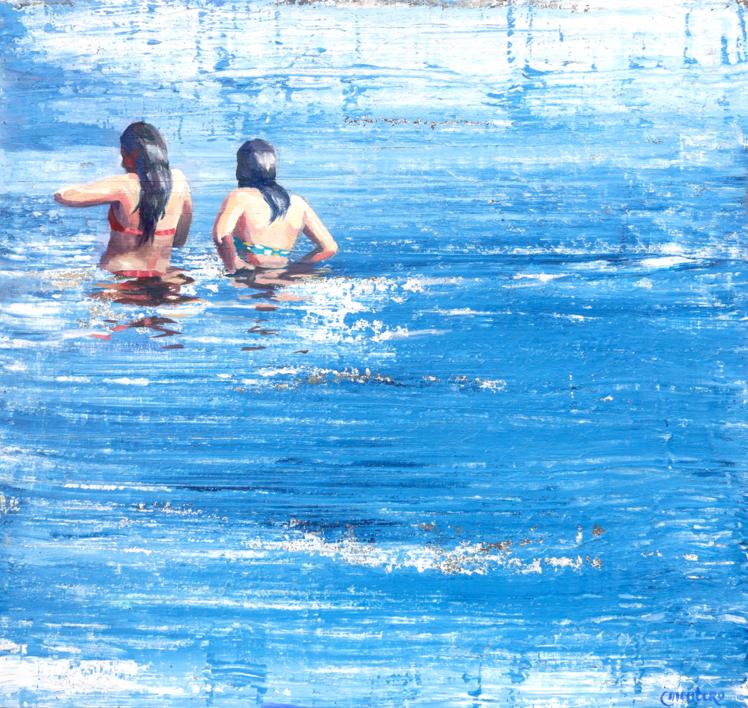 Primas |Pintura de Carmen Montero | Compra arte en Flecha.es