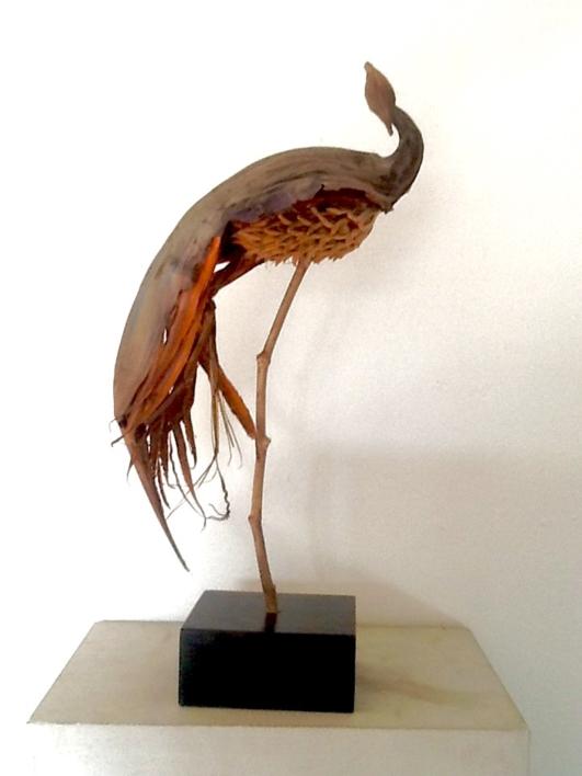 Ave del paraiso  Escultura de Daniel Salorio   Compra arte en Flecha.es