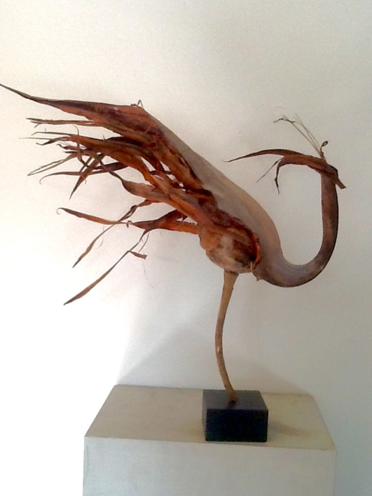 Gallo |Escultura de Daniel Salorio | Compra arte en Flecha.es