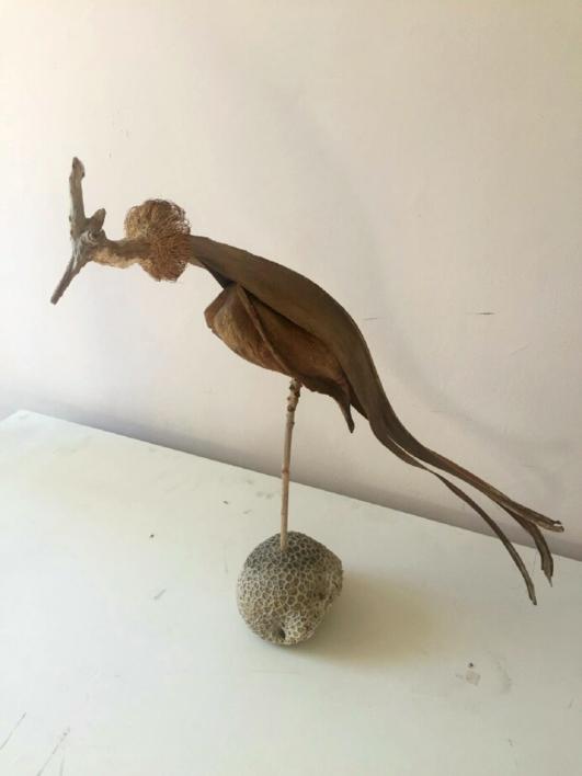 zopilote |Escultura de Daniel Salorio | Compra arte en Flecha.es