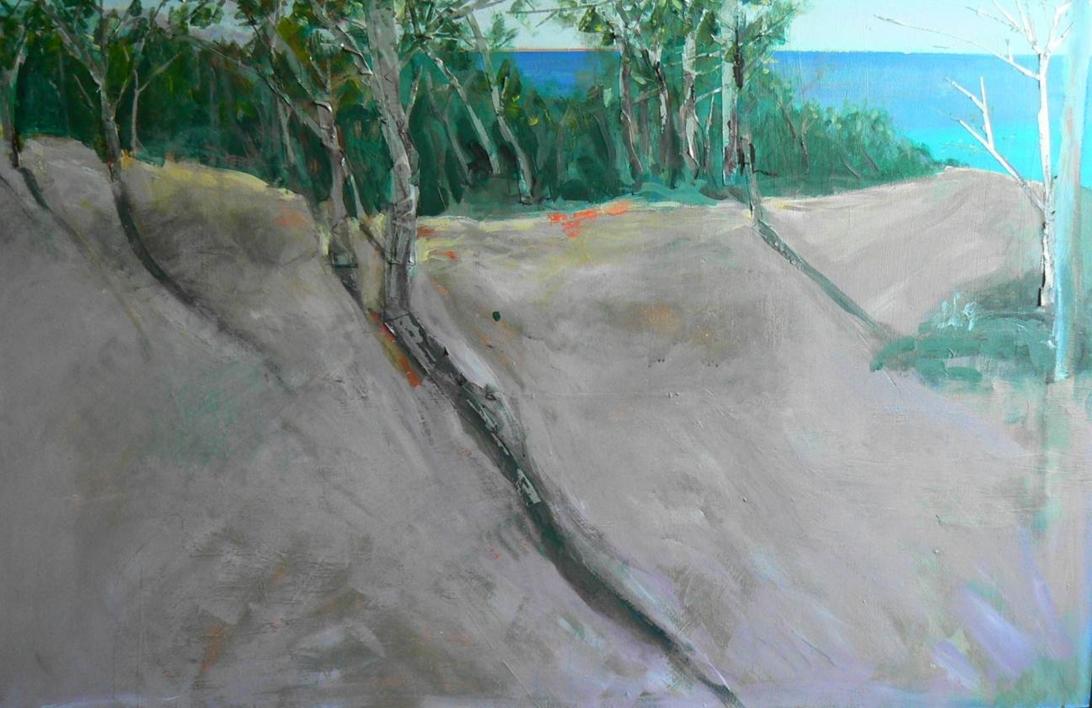 El bosque animado de cala Peguera |Collage de rivera | Compra arte en Flecha.es