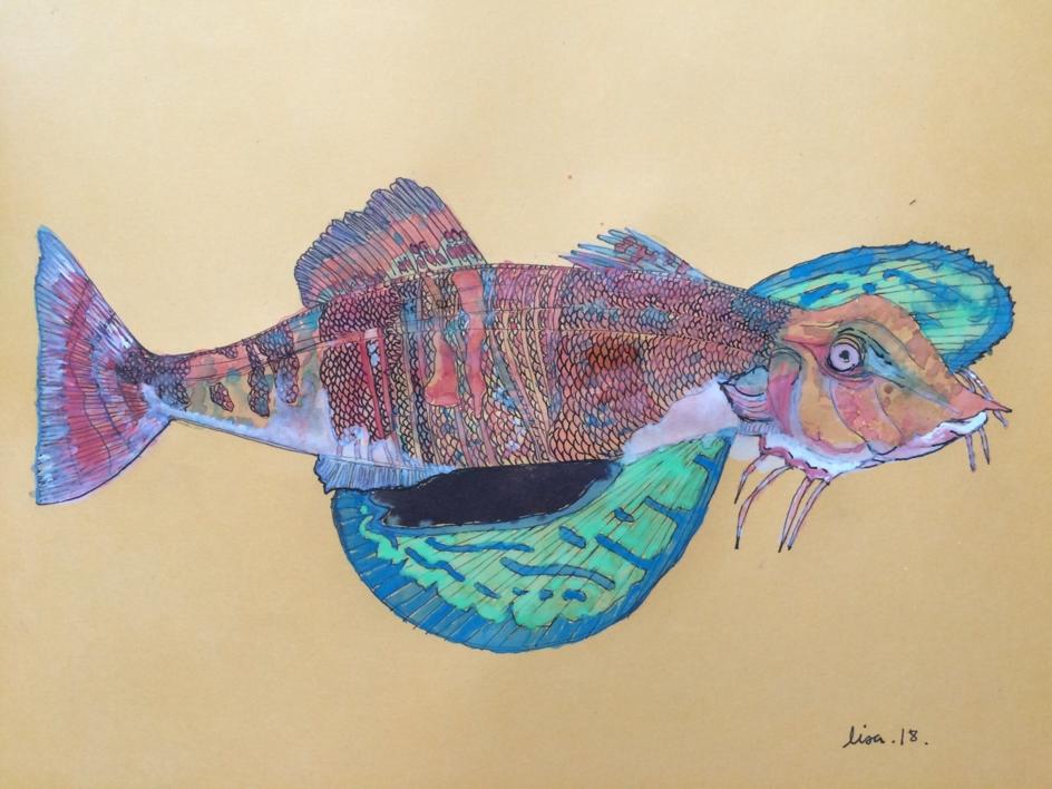 Chicharra |Dibujo de Lisa | Compra arte en Flecha.es