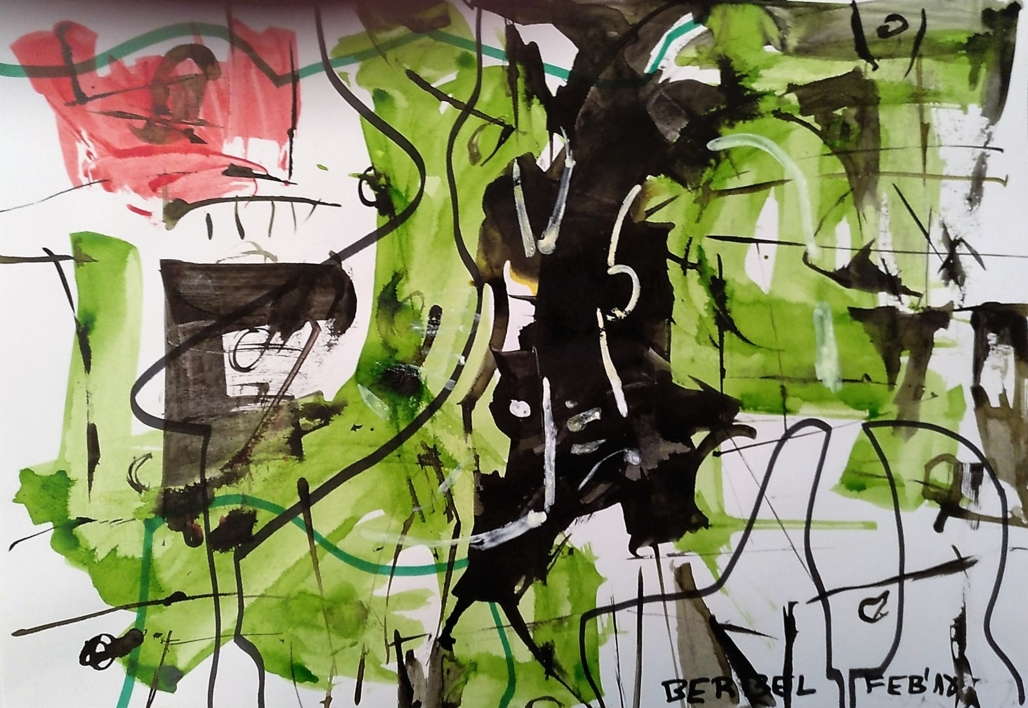 Nature number 5  Dibujo de Manuel Berbel   Compra arte en Flecha.es