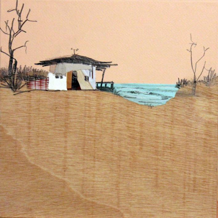 Sedentarios (135) |Collage de Eduardo Query | Compra arte en Flecha.es