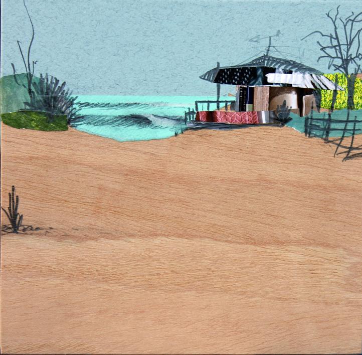 Sedentarios (142) |Collage de Eduardo Query | Compra arte en Flecha.es