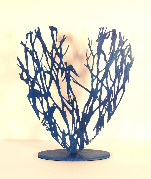 Desde el corazón 16 |Escultura de Krum Stanoev | Compra arte en Flecha.es