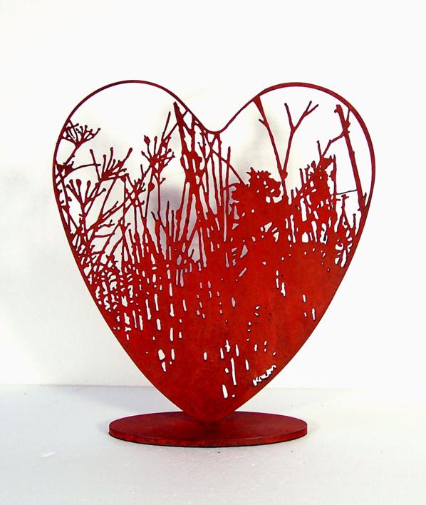 Desde el corazón 18 |Escultura de Krum Stanoev | Compra arte en Flecha.es