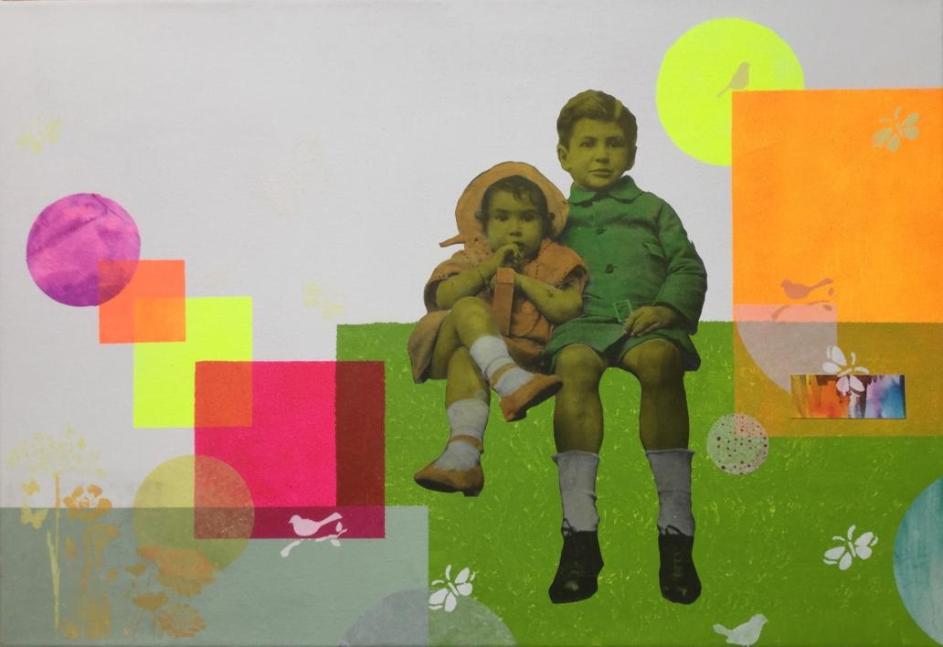 Serán |Collage de Olga Moreno Maza | Compra arte en Flecha.es