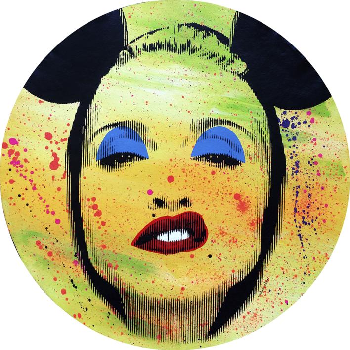 Pop Icon No. 174 |Pintura de Silvio Alino | Compra arte en Flecha.es