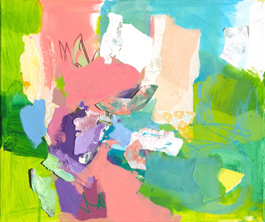 GARDEN  12 |Pintura de Marta Aguirre | Compra arte en Flecha.es