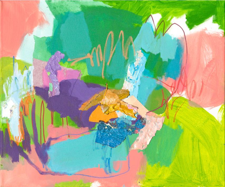 GARDEN  14 |Pintura de Marta Aguirre | Compra arte en Flecha.es