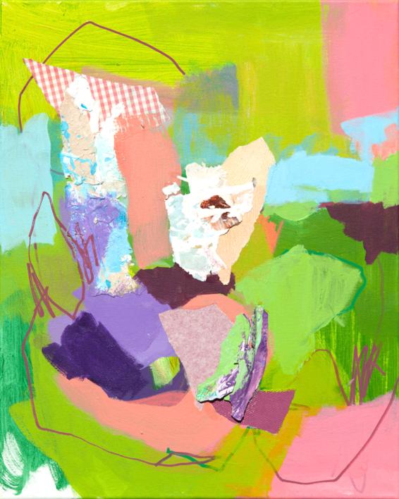 GARDEN 17 |Pintura de Marta Aguirre | Compra arte en Flecha.es
