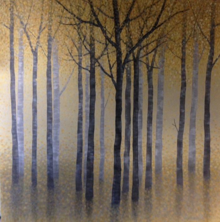 Arboles en otoño |Pintura de Charlotte Adde | Compra arte en Flecha.es