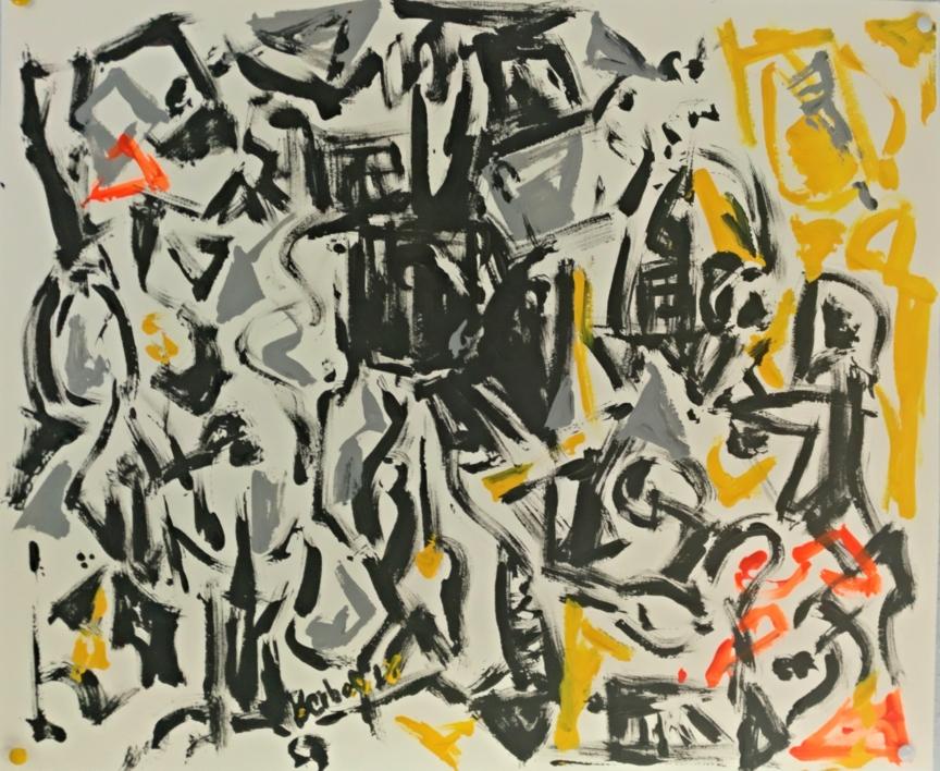 Collection 2 number 5 |Pintura de mhberbel | Compra arte en Flecha.es