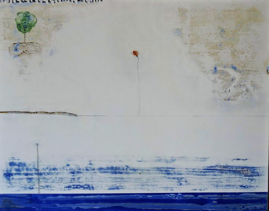 la flor |Pintura de Siuro | Compra arte en Flecha.es