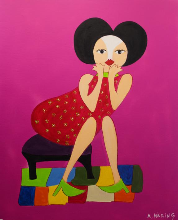 Matilda |Pintura de Ángela Fernández Häring | Compra arte en Flecha.es