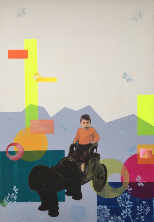 Jose |Collage de Olga Moreno Maza | Compra arte en Flecha.es