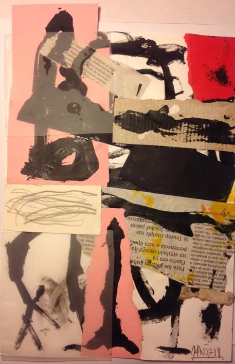 Cara2 |Collage de Pedro galvez | Compra arte en Flecha.es