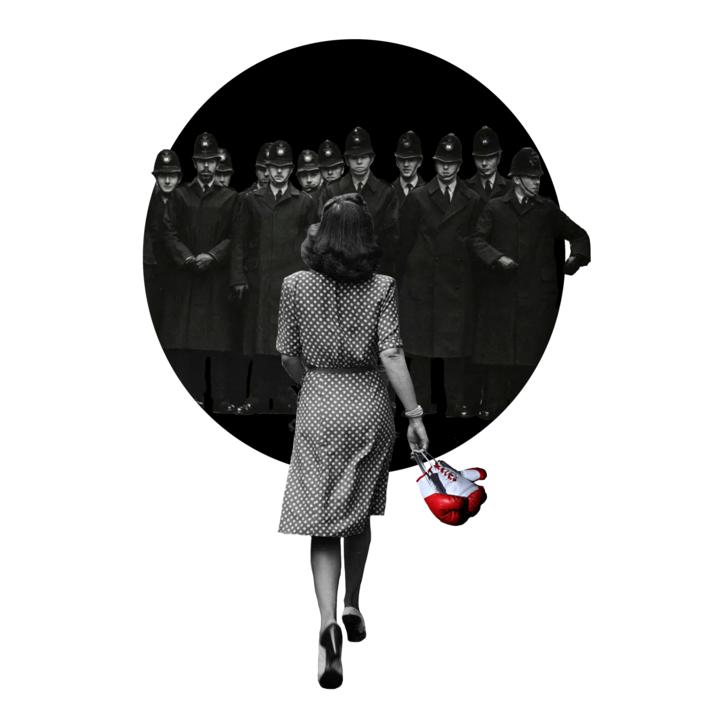 Agujero negro nº 28 |Collage de Gabriel Aranguren | Compra arte en Flecha.es
