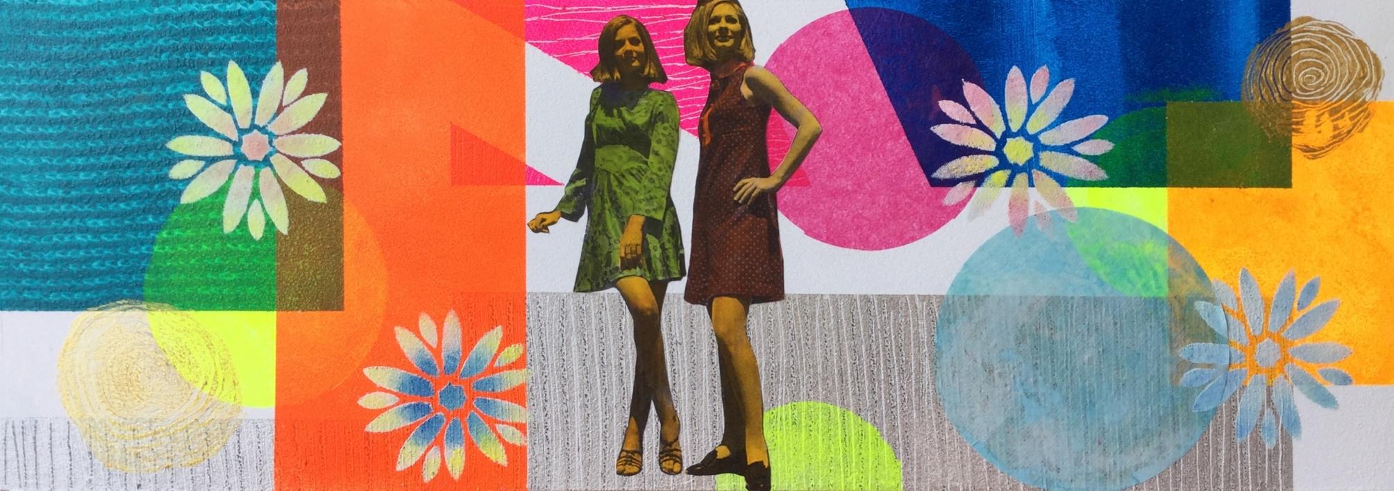 La parada |Collage de Olga Moreno Maza | Compra arte en Flecha.es