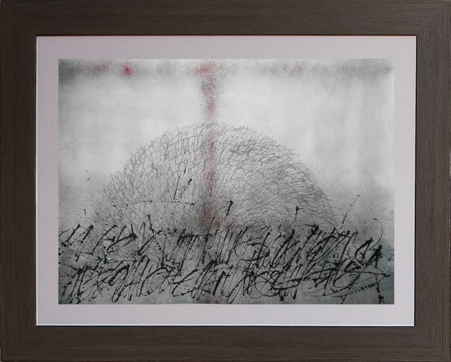 Amanecer desde Vesta 10   Pintura de Jorge Regueira   Compra arte en Flecha.es