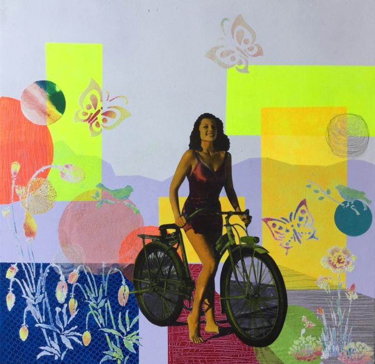 Rita  Collage de Olga Moreno Maza   Compra arte en Flecha.es