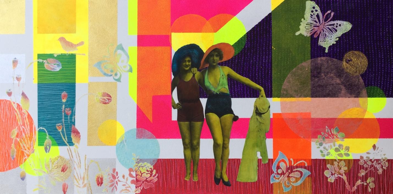 El albornoz |Collage de Olga Moreno Maza | Compra arte en Flecha.es