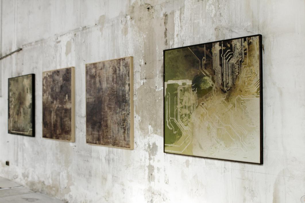 CIRCUITO I | Pintura de Ana Dévora | Compra arte en Flecha.es