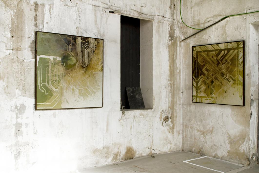 CIRCUITO V | Pintura de Ana Dévora | Compra arte en Flecha.es