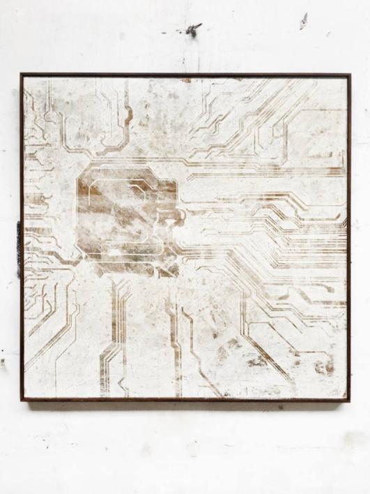 CIRCUITOS VIII |Pintura de Ana Dévora | Compra arte en Flecha.es