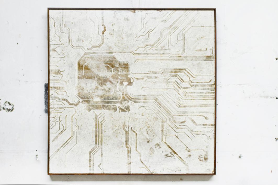 CIRCUITOS VIII | Pintura de Ana Dévora | Compra arte en Flecha.es