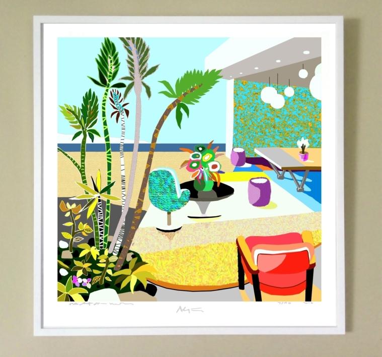 Casa con vistas | Digital de ALEJOS | Compra arte en Flecha.es