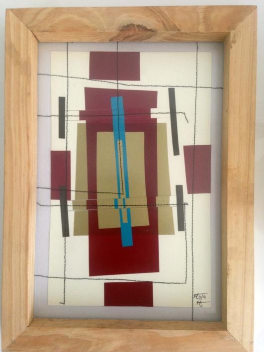 Dorada 19 |Collage de Fabiana Zapata | Compra arte en Flecha.es