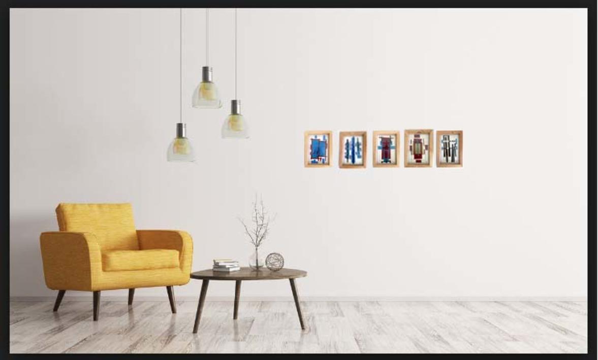 Dorada 19 | Collage de Fabiana Zapata | Compra arte en Flecha.es