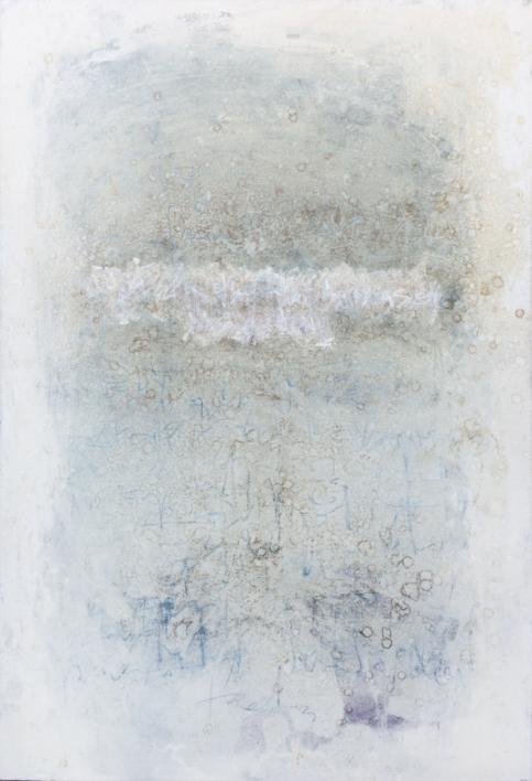 Whiteboard. Noise Serie I |Pintura de Ana Dévora | Compra arte en Flecha.es