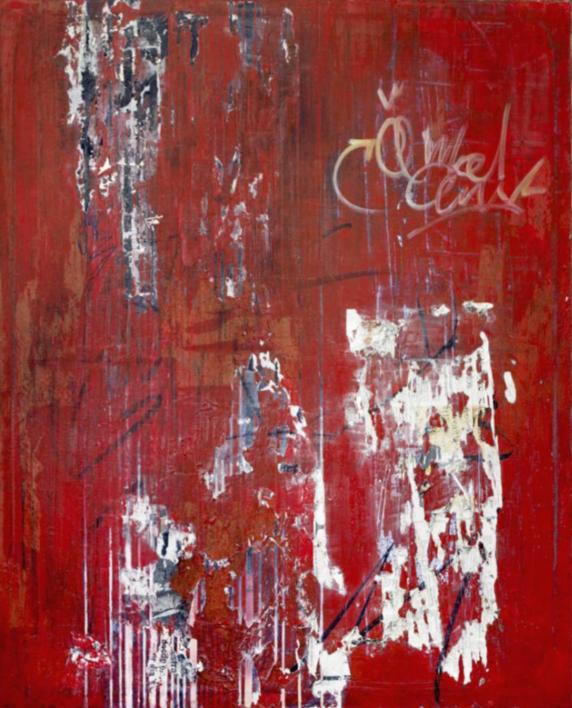 REDDOG |Pintura de Ana Dévora | Compra arte en Flecha.es