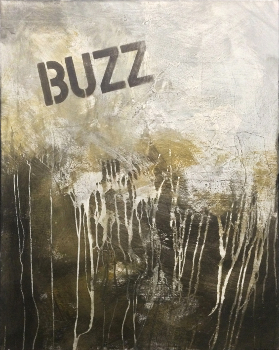 BUZZ |Pintura de Ana Dévora | Compra arte en Flecha.es