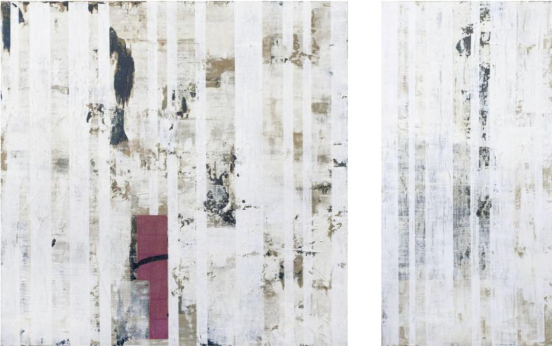 I am a body in the space I |Pintura de Ana Dévora | Compra arte en Flecha.es
