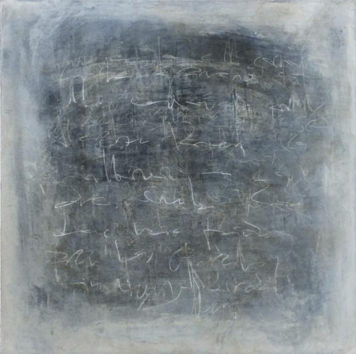 Blue Noise II |Pintura de Ana Dévora | Compra arte en Flecha.es