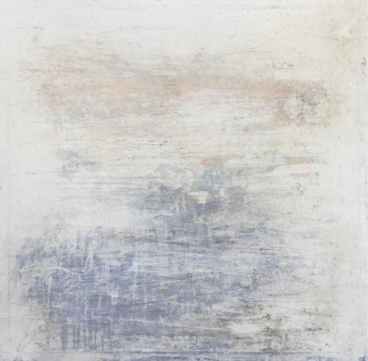 Blue Noise |Pintura de Ana Dévora | Compra arte en Flecha.es
