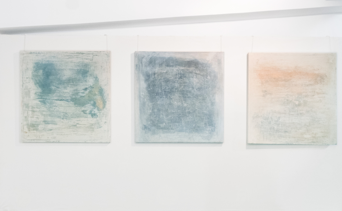 Blue Noise | Pintura de Ana Dévora | Compra arte en Flecha.es