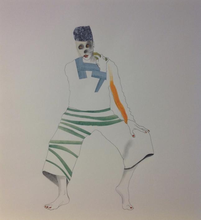 Sin título |Dibujo de JAVIER MACHIMBARRENA | Compra arte en Flecha.es