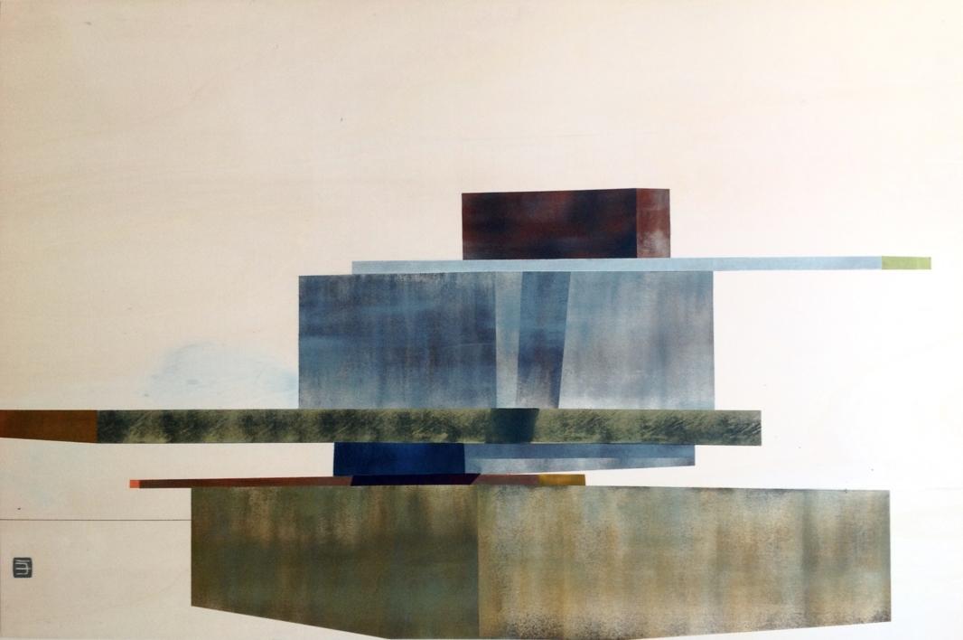 SOBRE LO INESTABLE 3 |Pintura de JAVIER MACHIMBARRENA | Compra arte en Flecha.es