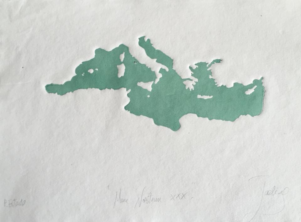 MARE NOSTRUM XXXVI |Obra gráfica de Jaelius Aguirre | Compra arte en Flecha.es