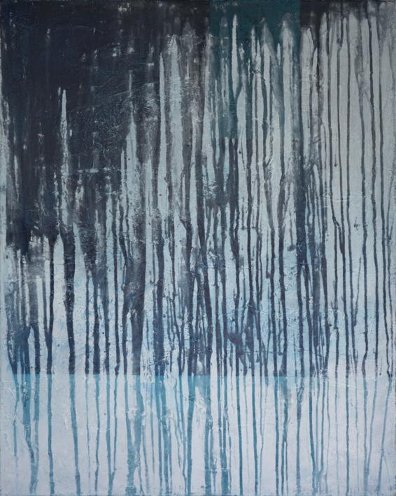 Water behind the glass  I  Pintura de Lucia Garcia Corrales   Compra arte en Flecha.es